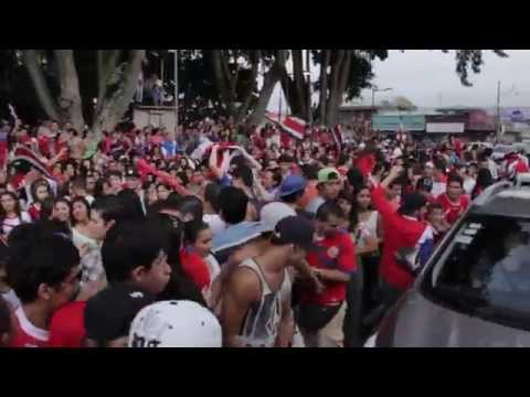 COSTA RICA VS. GREECE Celebration