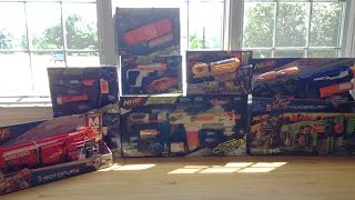 getlinkyoutube.com-Unboxing A Package From Nerf Summer/Fall 2015 Blasters
