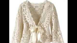 getlinkyoutube.com-Mas BOLEROS De Variados Modelos Para Damas Tejidos a Crochet - SOLO IMAGENES