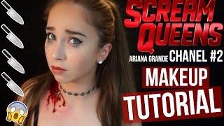 getlinkyoutube.com-Scream Queens Chanel #2 (Ariana Grande) Makeup Tutorial + GIVEAWAY