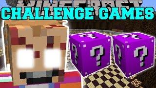 getlinkyoutube.com-Minecraft: CHUCKY CHALLENGE GAMES - Lucky Block Mod - Modded Mini-Game