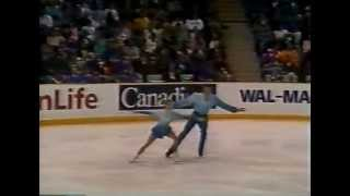 getlinkyoutube.com-Berezhnaya & Shliakhov (LAT) - 1994 Skate Canada International, Pairs' Long Program