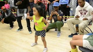 getlinkyoutube.com-Baby Girl is TOO on! She tore it up!  *IT'S A MUST WATCH*