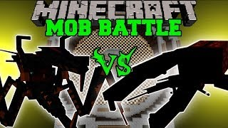 getlinkyoutube.com-Hercules Beetle Vs Jumpy Bug - Minecraft Mob Battles - OreSpawn Mod Bugs Battle