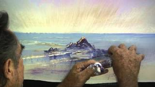 getlinkyoutube.com-How to Paint a Sun Rise