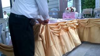 getlinkyoutube.com-Pooh Phu  วิธีการจัดผ้า