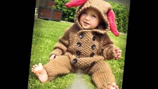 getlinkyoutube.com-Вязаные комбинезоны для малюток до года