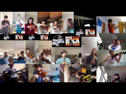 King's College Virtual Big Band - Performance 2 Radio Ga Ga
