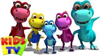 Dinosaurs Finger Family | Dino Song | Nursery Rhymes | Kids Songs | Baby Rhymes