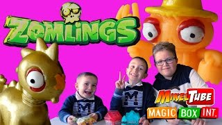 getlinkyoutube.com-Las Casas de Zomlings en el Fantástico canal infantil Mikel Tube de Magic Box Int. Español