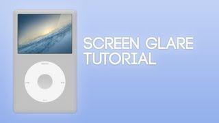 getlinkyoutube.com-Screen Glare Effect Tutorial | Photoshop