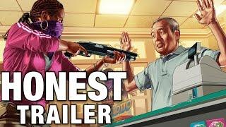 getlinkyoutube.com-GRAND THEFT AUTO ONLINE (Honest Game Trailers)