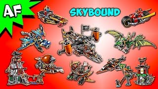 Every Lego Ninjago SKYBOUND Set - Complete Collection!