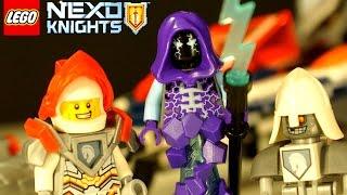getlinkyoutube.com-Lego Nexo Knights 2017 - Турнирная Машина Ланса 70348 - Игра и Мультики для Детей