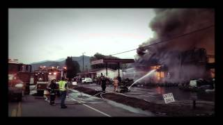 getlinkyoutube.com-Fire in Roan Mountain.