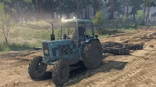 getlinkyoutube.com-Spin Tires: Çiftçilik Modu [MTZ82]