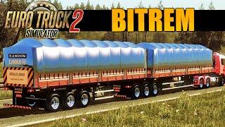 getlinkyoutube.com-Euro Truck Simulator 2 - Viagem de Bitrem Graneleiro  PT-BR