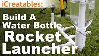 getlinkyoutube.com-How To Build The Simplest Water Bottle Rocket Launcher