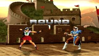 getlinkyoutube.com-The King Of Fighters Extra MUGEN Athena Fights