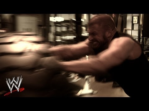 Triple H Training Video @WWEUniverse