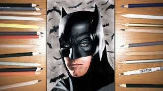 Speed Drawing: Batman - Ben Affleck | Jasmina Susak