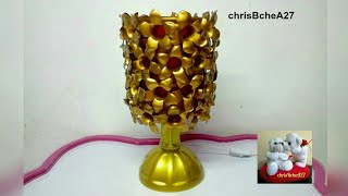 DIY# 36 Lampshade Made Of Recycled Plastic Bottles