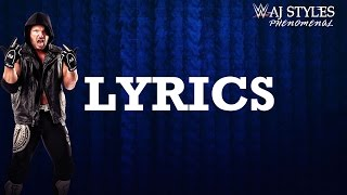 "getlinkyoutube.com-AJ Styles WWE Theme Song: ""Phenomenal"" Lyrics"