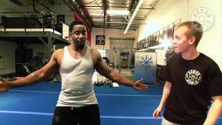 getlinkyoutube.com-Martial Arts expert Michael Jai White's training video with Gonzo FIT