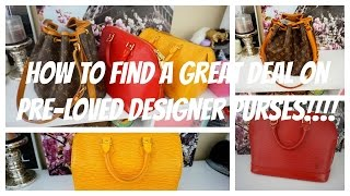 getlinkyoutube.com-How to find GREAT DEALS on Pre-Loved Designer Handbags!!!