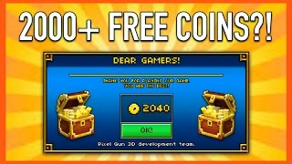 getlinkyoutube.com-2000+ FREE COINS! | Pixel Gun 3D - New Update 10.3.1 [Review]