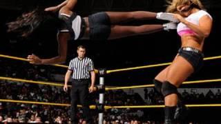 getlinkyoutube.com-WWE NXT: Naomi vs. Kaitlyn