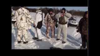 getlinkyoutube.com-Зимняя охота на кабана
