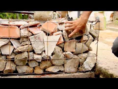 Claves para construir un muro de gavión
