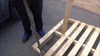 getlinkyoutube.com-Custom built pallet wood buster