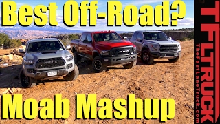 getlinkyoutube.com-2017 Ford Raptor v. Toyota Tacoma TRD Pro v. Ram Power Wagon: Which is Best Off-Road?