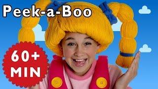 getlinkyoutube.com-Peek-a-Boo and More | Nursery Rhymes from Mother Goose Club!