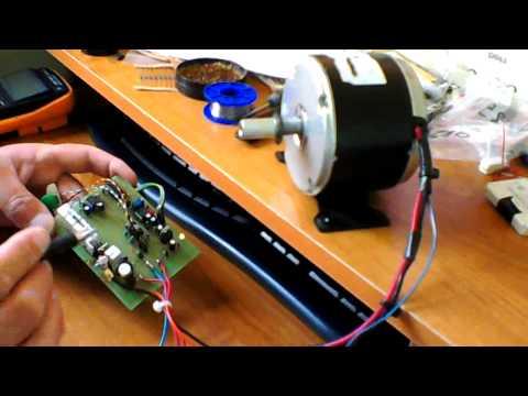 Analogowy sterownik silnika prądu stałego
