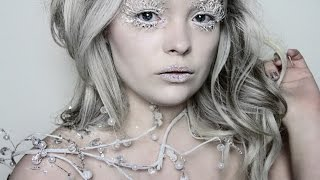 getlinkyoutube.com-Ice Queen Makeup Tutorial ❄ Narnia's White Witch