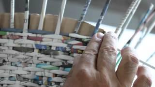 getlinkyoutube.com-Pega & Faça c/ Adauto - Aula 01 - Cesta com Papel Jornal