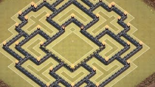 Townhall 9 Trophy Base Design! (4th Mortar DESCRIPTION!)