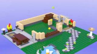 getlinkyoutube.com-Lego 6754 Creator Family Home