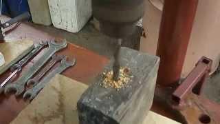 getlinkyoutube.com-Сверлильный станок - своими руками. Drilling machine - with their own hands .