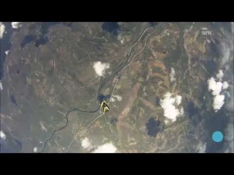 Skydiver Almost Struck by Meteorite