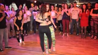 getlinkyoutube.com-Angelina Bachata birthday dance