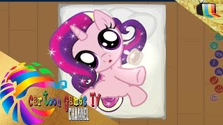 getlinkyoutube.com-Joy Pony episode 10:  Princess Cadance. Caring games for kids!