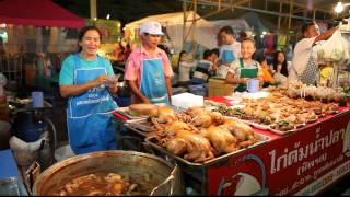 getlinkyoutube.com-Ночной рынок в Паттайе (Thepprasit weekend market)