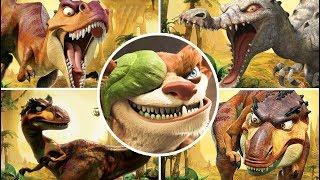 getlinkyoutube.com-Ice Age 3: Dawn of the Dinosaurs All Bosses | Final Boss (PS3, X360, Wii, PS2, PC)