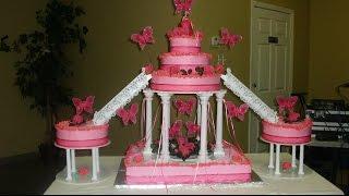 getlinkyoutube.com-Como poner chantilly al pastel o torta o cake