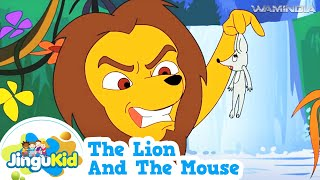 getlinkyoutube.com-The Lion and the Mouse | HD Tales of Panchatantra | Animated Moral Stories For Kids