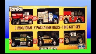 getlinkyoutube.com-Top 6 TONKA Toys 2013 inc GARBAGE TRUCK, AMBULANCE, SHERIFF PARK RANGER AND FIRE ENGINE